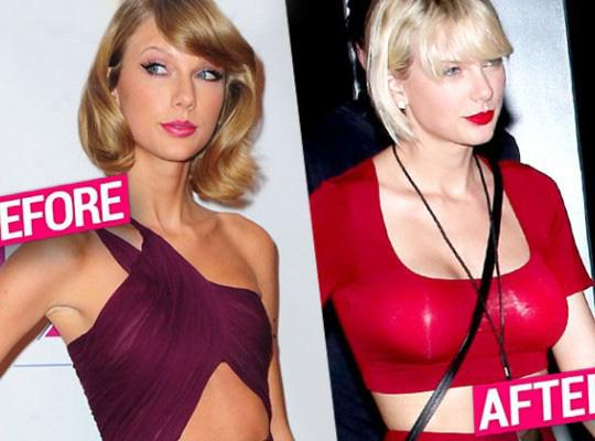 Chị rắn Taylor Swift lên cân trông thấy, cặp đùi tăng size nhưng vòng 1 khủng ngày nào đâu rồi? - ảnh 9