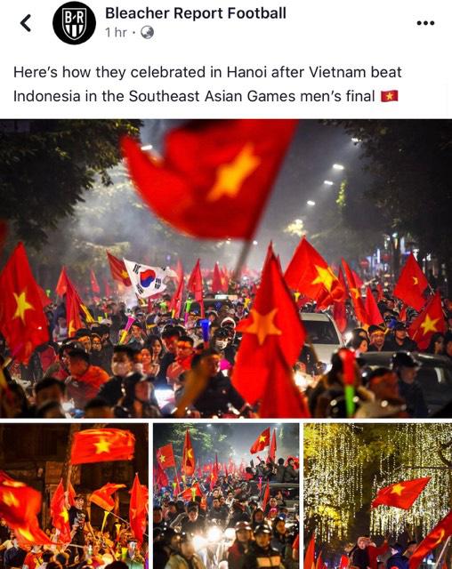 Mạng xã hội thể thao hàng đầu thế giới choáng ngợp với hình ảnh đi bão của người dân Việt Nam - ảnh 2