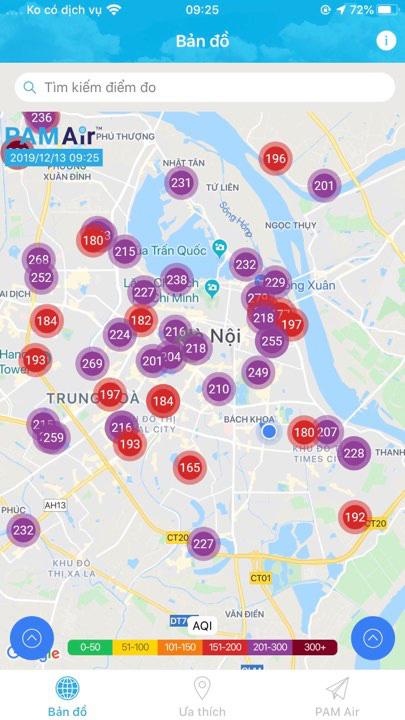 Không khí Hà Nội tiếp tục ở mức ô nhiễm nặng, rất có hại cho sức khỏe - ảnh 4