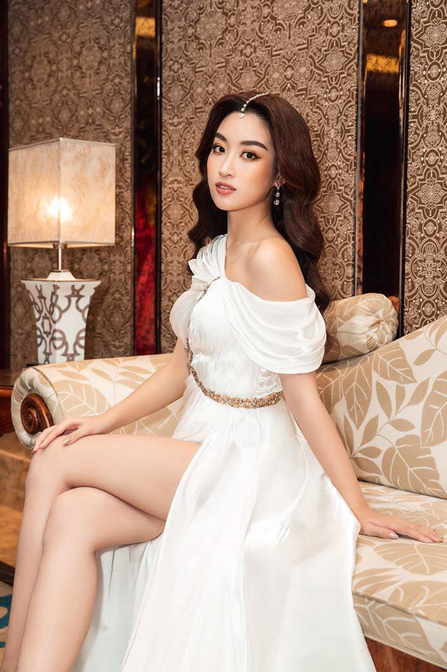 Đỗ Mỹ Linh cổ vũ đại diện Việt Nam trước giờ G chung kết Miss World 2019: Cố lên nhé Lương Thùy Linh! - ảnh 2