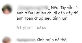 Nhung Bum đăng ảnh quyến rũ với váy ngủ, fan lập tức soi ra Văn Toàn chính là nhiếp ảnh gia - ảnh 3