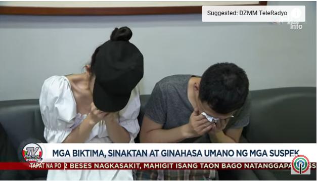 Một phụ nữ Việt cùng 2 người khác bị 6 người Trung Quốc bắt cóc và cưỡng hiếp ở Philippines - ảnh 1