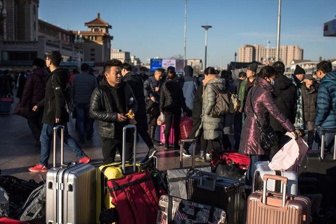 Xuân Vận - Đợt di cư khổng lồ về quê ăn tết ở Trung Quốc rục rịch khởi động - ảnh 1