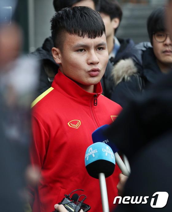Quang Hải ca ngợi HLV Park Hang-seo trên mặt báo Hàn Quốc, khẳng định U23 Việt Nam không ngại đối đầu với đội bóng xứ kim chi - Ảnh 1.