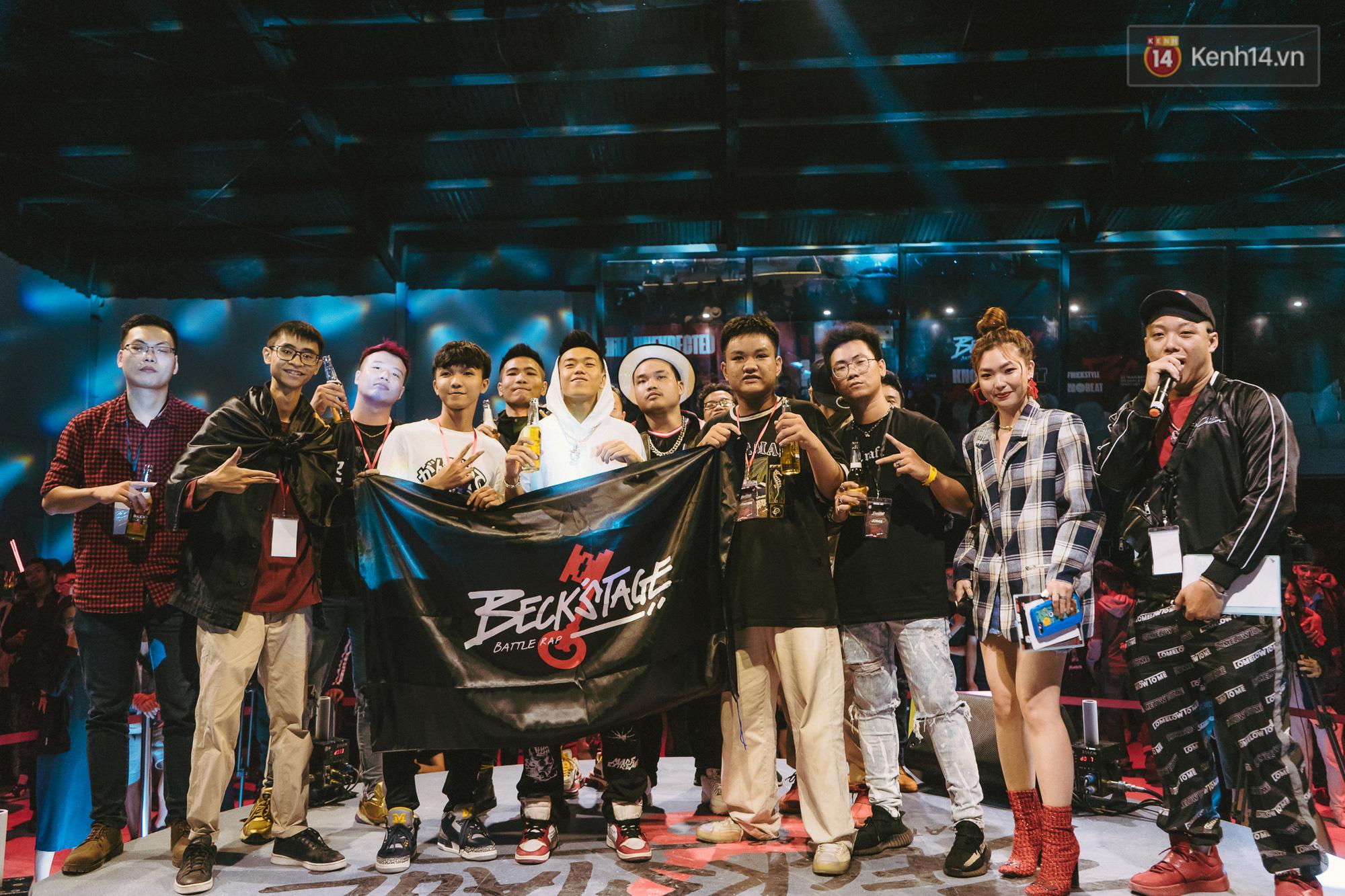 """Beck'Stage Battle Rap: Giải đấu khủng nhất của rap Việt Nam và lời khẳng định """"We are Striver"""" - Ảnh 11."""