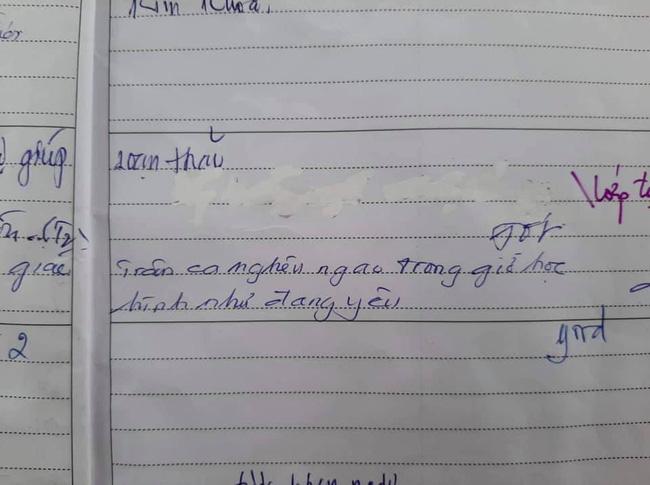 Nữ sinh nghêu ngao hát trong giờ học bị ghi sổ đầu bài, lời tiên đoán của thầy giáo bộ môn khiến ai nấy đều phì cười - ảnh 1