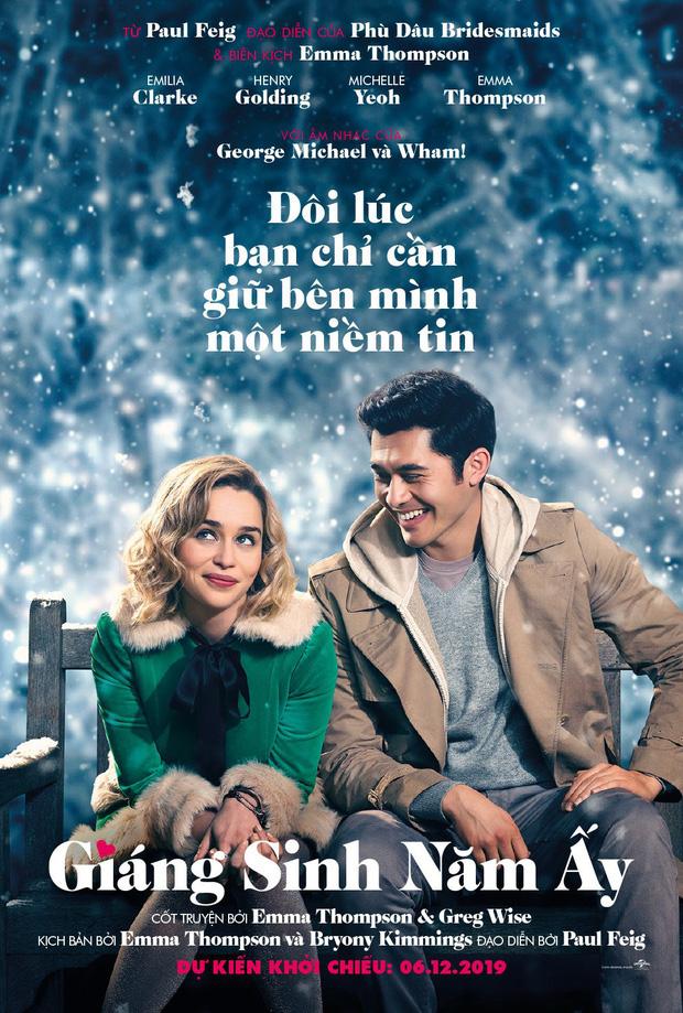 Phim Giáng Sinh của Mẹ Rồng và trai trẻ gốc Á kém kịch tính nhưng thừa ngọt ngào - Ảnh 1.
