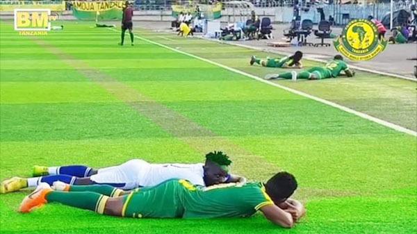 Đang thi đấu thì đàn ong tấn công, cầu thủ bỏ bóng chạy lấy người tạo ra khung cảnh bi hài - Ảnh 2.