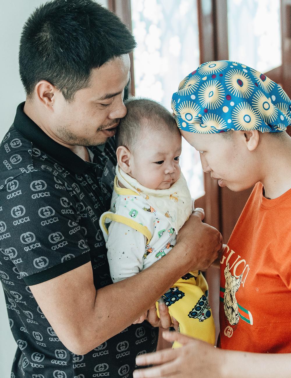 Đỗ Bình An đã được 6 tháng tuổi: Câu chuyện phi thường của người mẹ ung thư giai đoạn cuối, quyết sinh con bằng tất cả tình yêu thương và lòng dũng cảm - Ảnh 13.