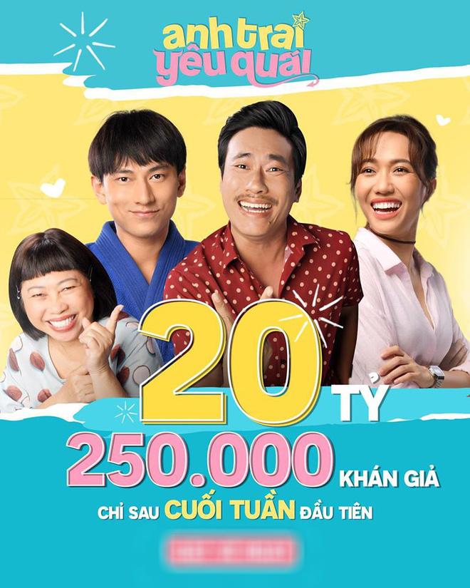 Anh Trai Yêu Quái hốt trọn 20 tỷ sau cuối tuần công chiếu đầu tiên - ảnh 1