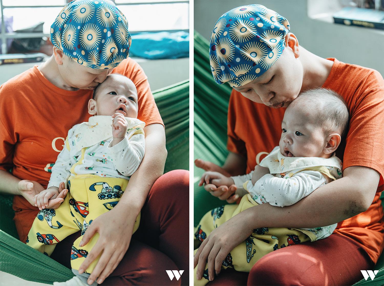 Đỗ Bình An đã được 6 tháng tuổi: Câu chuyện phi thường của người mẹ ung thư giai đoạn cuối, quyết sinh con bằng tất cả tình yêu thương và lòng dũng cảm - Ảnh 9.