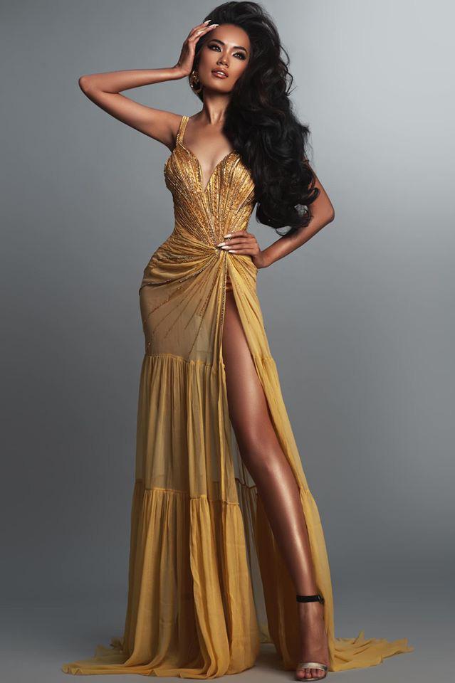Hoàng Phương - ứng viên sáng giá của Hoa hậu Hoàn vũ VN đáp trả khi bị nói bắt chước Catriona Gray - ảnh 2