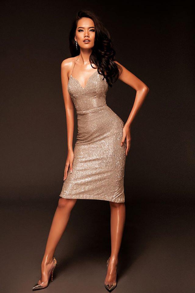 Hoàng Phương - ứng viên sáng giá của Hoa hậu Hoàn vũ VN đáp trả khi bị nói bắt chước Catriona Gray - ảnh 6