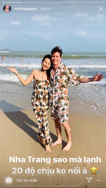 Hoàng Oanh tung clip sau 3 ngày kết hôn: Đây chính là cuộc sống tân hôn bên chồng Tây cực phẩm - ảnh 1