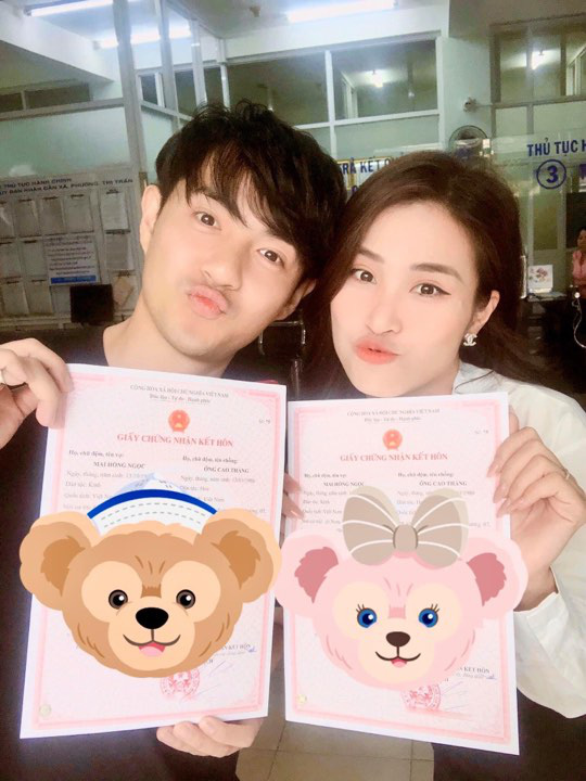Không phải Đông Nhi, Ông Cao Thắng khoe vật chứng xác nhận đã là vợ chồng cùng Mai Hồng Ngọc - ảnh 2