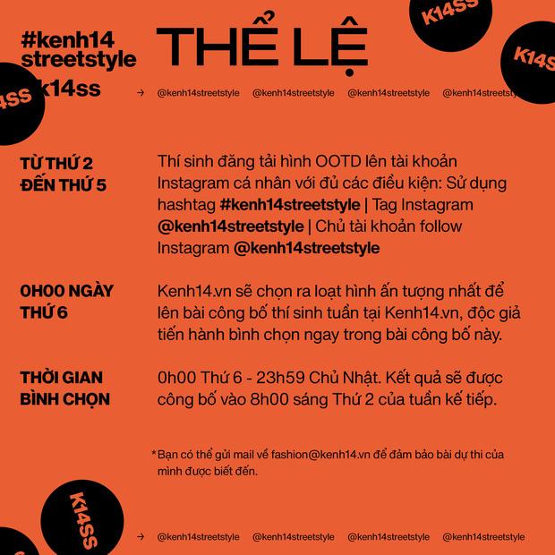 """#kenh14streetstyle tuần qua: Giới trẻ Việt mặc đẹp mà không """"dị"""", ai mix đồ cũng """"đỉnh"""" lắm luôn - ảnh 15"""