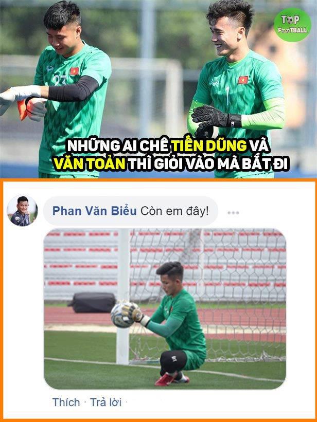 Cười lăn với loạt ảnh chế khi Việt Nam loại Thái Lan: Trọng tài đẹp trai chiếm spotlight, gây cười nhất là list thủ môn làm tăng độ khó cho game - ảnh 4
