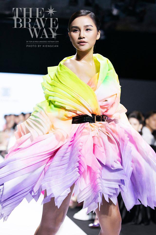 Điểm lại thành tích của 5 ứng viên sáng giá sau 9 tập show thực tế Tôi là Hoa hậu Hoàn vũ Việt Nam! - ảnh 4