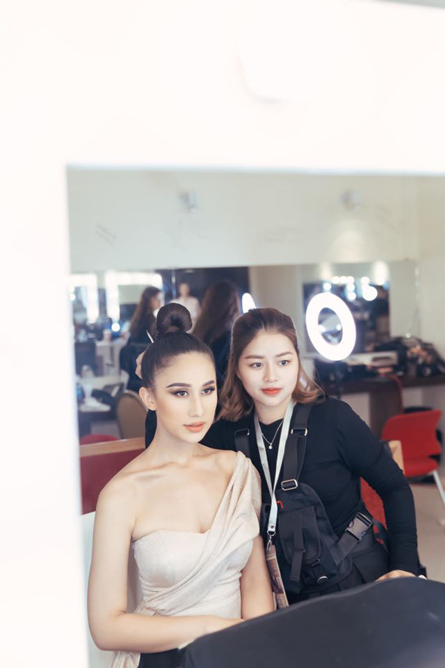 Đột nhập hậu trường Hoa hậu Hoàn vũ Việt Nam trước giờ G chung kết: Top 45 đã sẵn sàng bùng nổ để chinh phục vương miện - ảnh 5