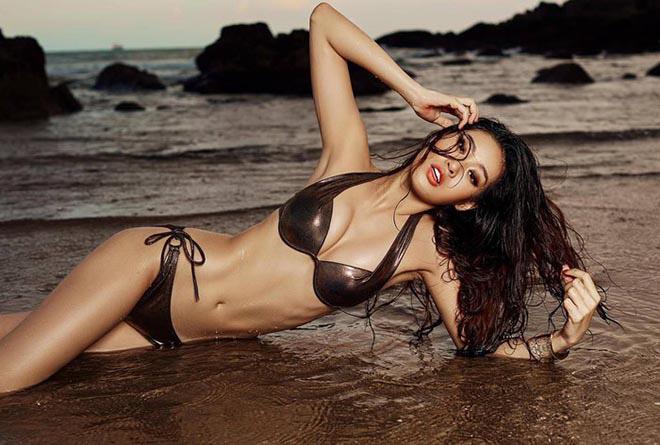 Ảnh gợi cảm của Hoa hậu Hoàn vũ Khánh Vân thời chưa nổi bất ngờ hot trở lại: Từ lâu thần sắc đã cuốn hút thế này! - ảnh 4
