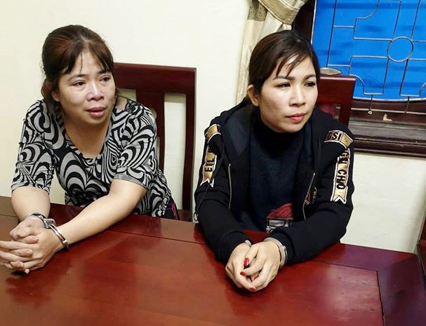 Nghệ An: Hai chị em trốn nã tội mua bán ma túy bị bắt - Ảnh 1.