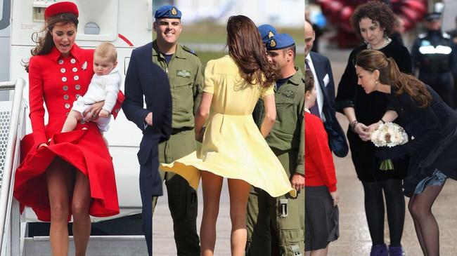Là Công nương coi nét thanh lịch làm chuẩn nhưng chị em dâu Kate và Meghan cũng nhiều lần mắc lỗi trang phục khó đỡ - Ảnh 6.