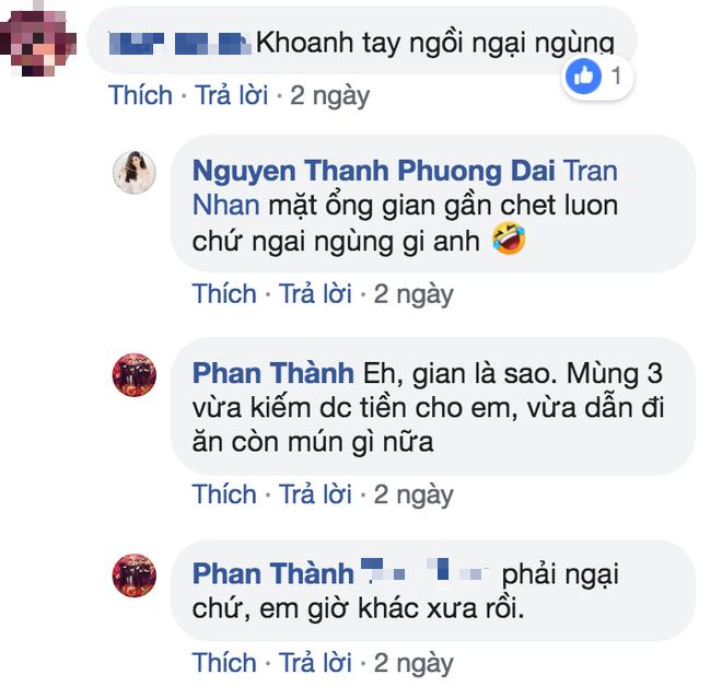 Phan Thành chia sẻ ảnh đi ăn, chăm thả thính với một cô gái lạ sau khi chia tay Primmy Trương - Ảnh 2.