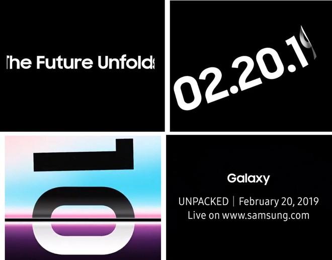 Samsung xác nhận ra mắt smartphone màn hình gập vào ngày 20/2 - ảnh 1