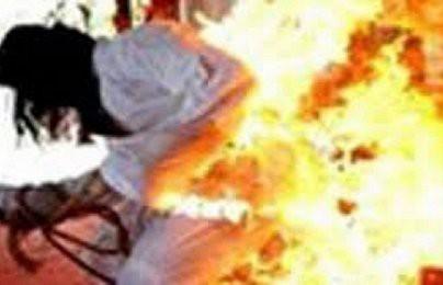 Không xin được tiền đi khám bệnh, người đàn ông thiêu chết vợ ở Bình Phước - ảnh 1