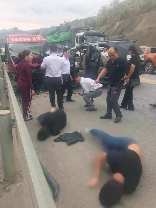 Vụ tai nạn kinh hoàng 12 người thương vong trên cao tốc: Tài xế xe 7 chỗ sử dụng rượu, bia - ảnh 1