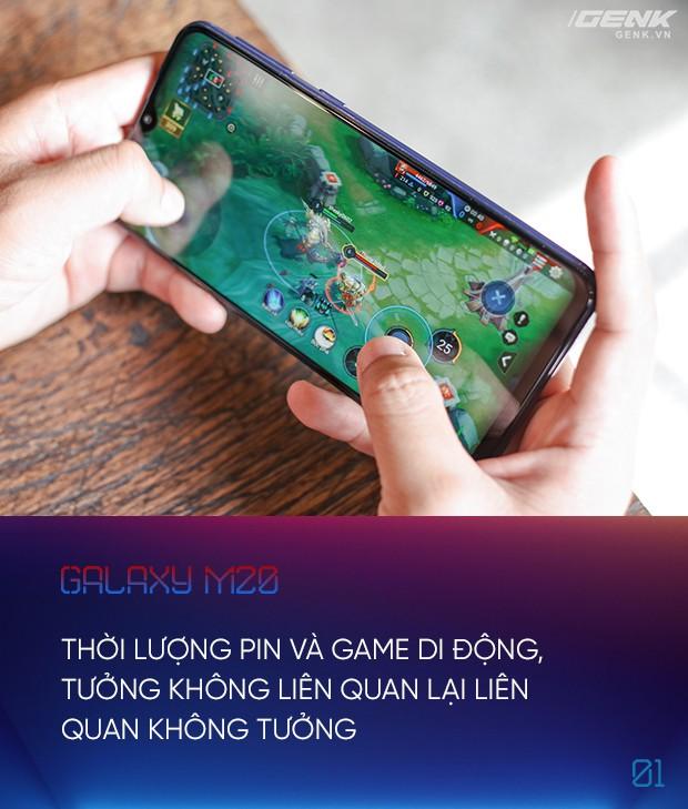 Thử thách hành pin Galaxy M20: xem phim, chơi game, làm việc bao lâu thì cạn? - Ảnh 3.