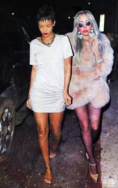 """Lady Gaga thừa nhận đang """"mang thai"""" và đứa con có liên quan đến... Rihanna? - Ảnh 4."""