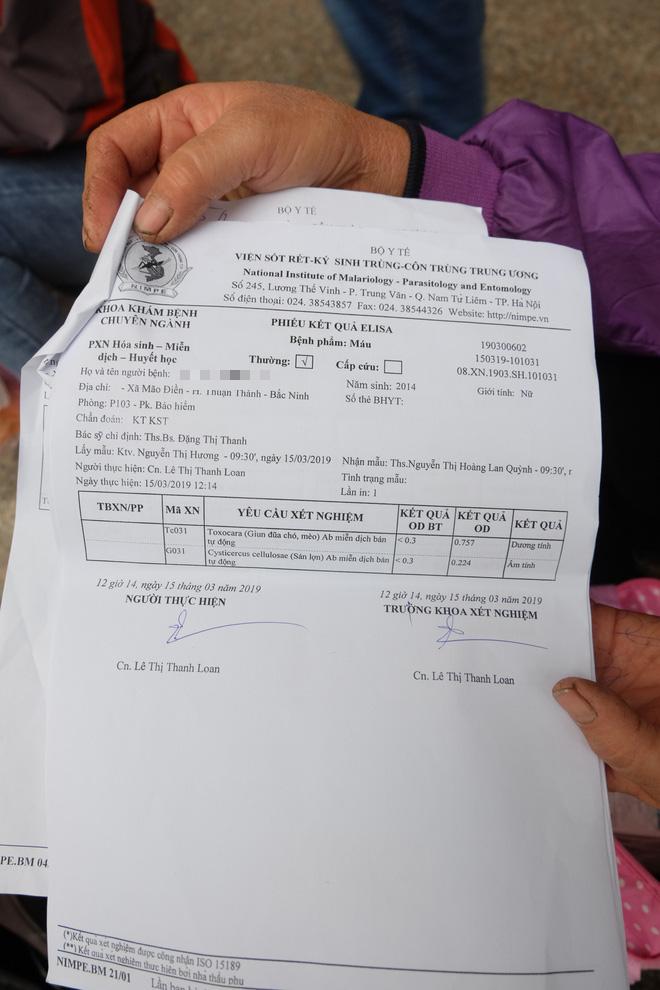 Vụ hàng chục học sinh Bắc Ninh nhiễm sán: Con tôi được xét nghiệm không nhiễm sán nhưng vẫn được bệnh viện chỉ định uống thuốc - Ảnh 6.