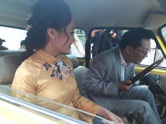 NSND Trung Hiếu tiếp tục làm lễ cưới với bà xã kém 19 tuổi ở Thái Bình - ảnh 3