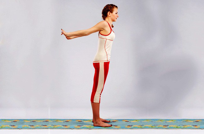 Các bài tập cải thiện vóc dáng, giảm đau cổ vai gáy hiệu quả - ảnh 2