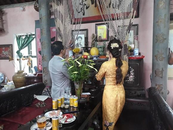 NSND Trung Hiếu tiếp tục làm lễ cưới với bà xã kém 19 tuổi ở Thái Bình - ảnh 4