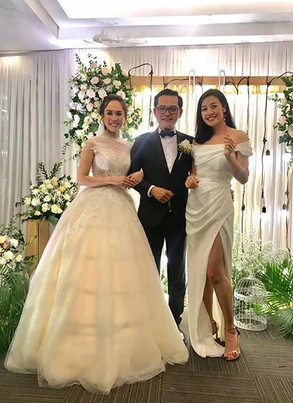 NSND Trung Hiếu tiếp tục làm lễ cưới với bà xã kém 19 tuổi ở Thái Bình - ảnh 2