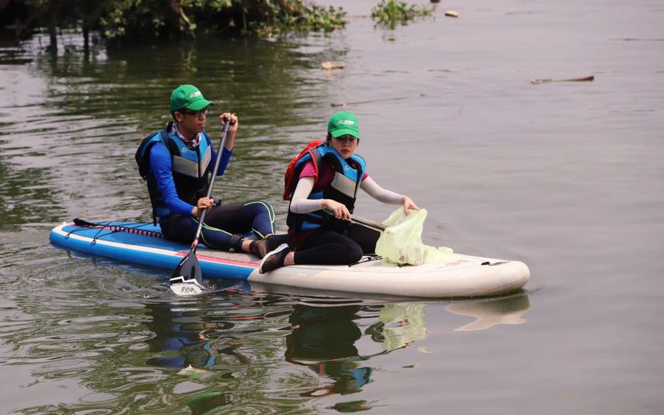 """Sở GTVT lên tiếng việc """"vớt rác trên sông phải xin phép"""": Mục đích tốt nhưng phải đảm bảo an toàn giao thông đường thủy"""