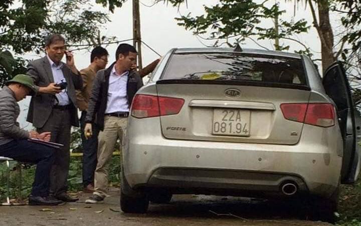 Vụ tài xế taxi bị bắn ở Tuyên Quang: Nghi phạm lái ô tô khoảng 20km thì bỏ lại xe rồi chạy trốn