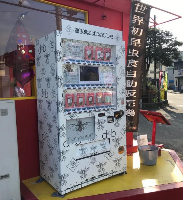 Ăn thử bọ lực sĩ rang muối trong máy bán côn trùng ở Nhật và cái kết sạn mồm - Ảnh 2.