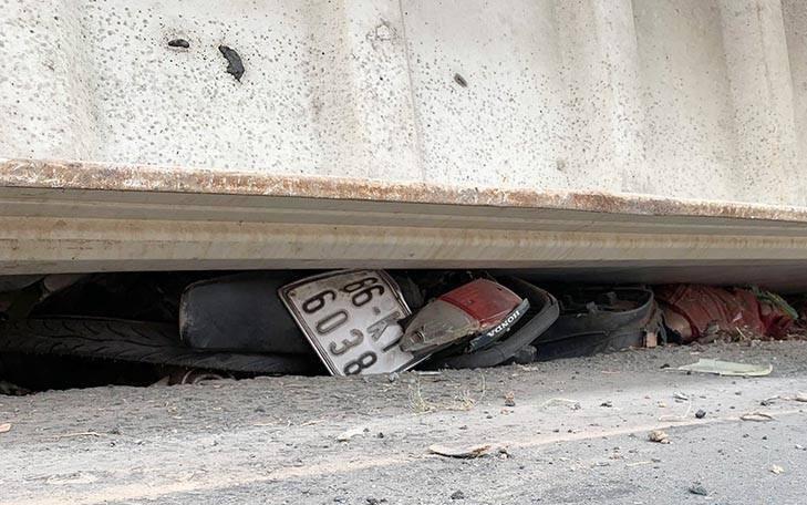Vụ container lật đè chết bé trai 2 tuổi và 2 người phụ nữ: Các nạn nhân đều cùng một gia đình
