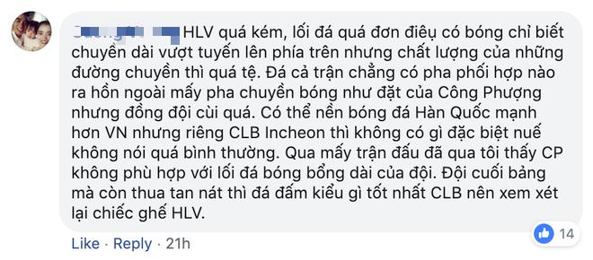 Vì Công Phượng, CĐV Việt Nam kêu gọi HLV Incheon United từ chức như thầy Văn Lâm - ảnh 5