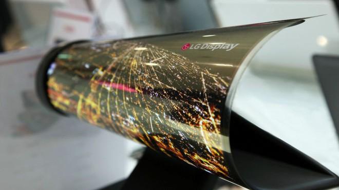 Smartphone màn hình gập chưa là gì, LG còn định ra mắt cả smartphone màn hình cuộn - Ảnh 1.
