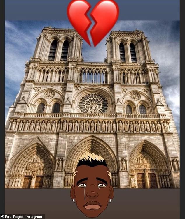 Hàng loạt ngôi sao bóng đá nuối tiếc vì nhà thờ Đức Bà, biểu tượng của thủ đô Paris bị lửa tàn phá - Ảnh 3.