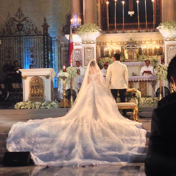 Cơn sốt vợ chồng mỹ nhân đẹp nhất Philippines: Yêu tựa phim, cưới như hoàng gia, 2 thiên thần nhỏ vừa ra đời đã quá nổi - Ảnh 11.