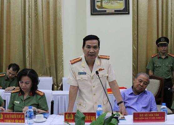 Đại tá Nguyễn Sỹ Quang giữ chức Phó Giám Đốc Công an TPHCM - Ảnh 2.