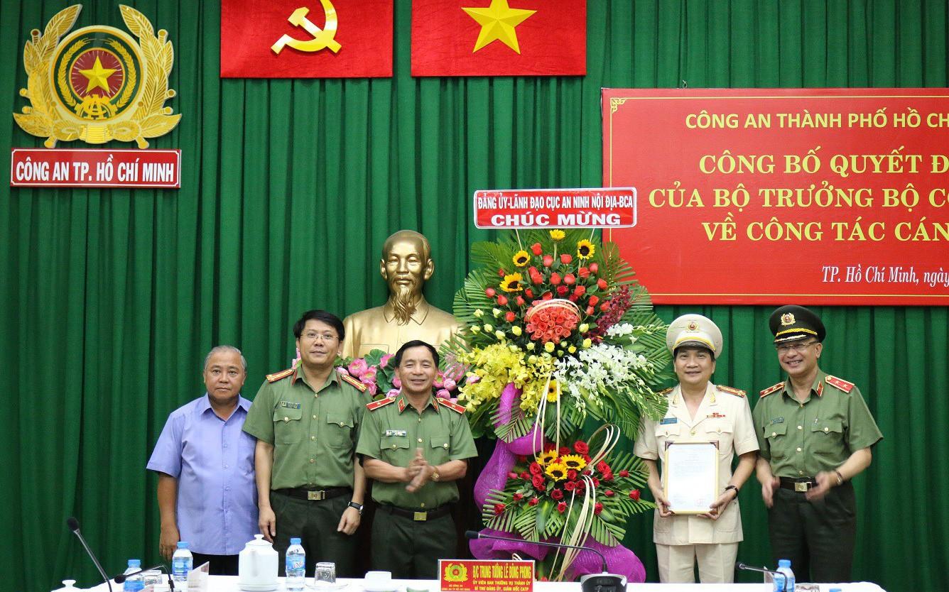 Đại tá Nguyễn Sỹ Quang giữ chức Phó Giám Đốc Công an TPHCM