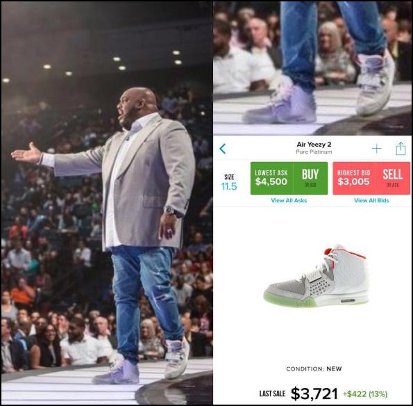 Hết việc để làm, thanh niên lập Instagram soi giày xịn trăm triệu của các mục sư giàu có - Ảnh 4.
