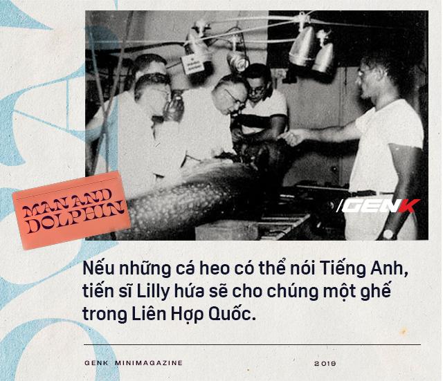 Đọc cuối tuần: Năm 1965, một cô gái dạy cá heo nói Tiếng Anh, cuối cùng con cá đã yêu cô ấy điên cuồng - ảnh 6