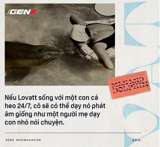 Đọc cuối tuần: Năm 1965, một cô gái dạy cá heo nói Tiếng Anh, cuối cùng con cá đã yêu cô ấy điên cuồng - ảnh 7